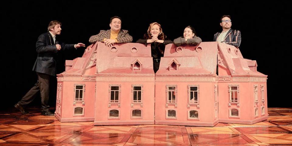 EL JARDÍN DE LOS CEREZOS en el Teatro Valle Inclán
