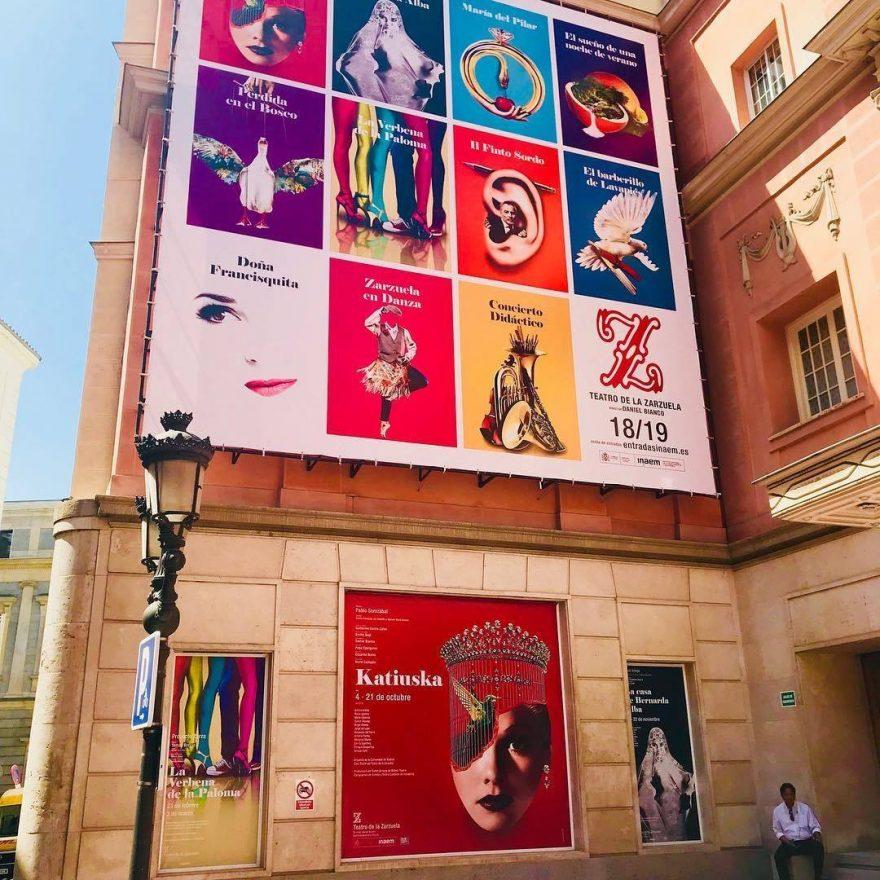 KATIUSKA en el Teatro de la Zarzuela