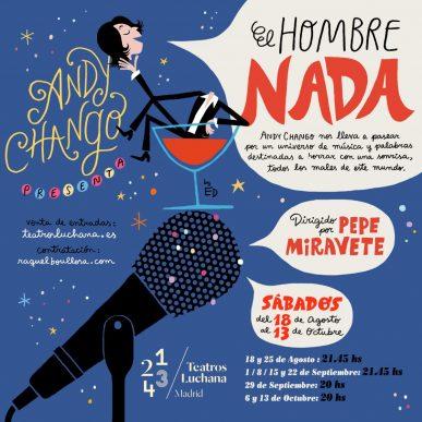 ANDY CHAO en los Teatros Luchana