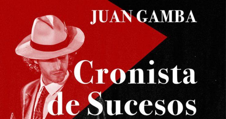CRONISTA DE SUCESOS, JUAN GAMBA, en el Teatro Lara
