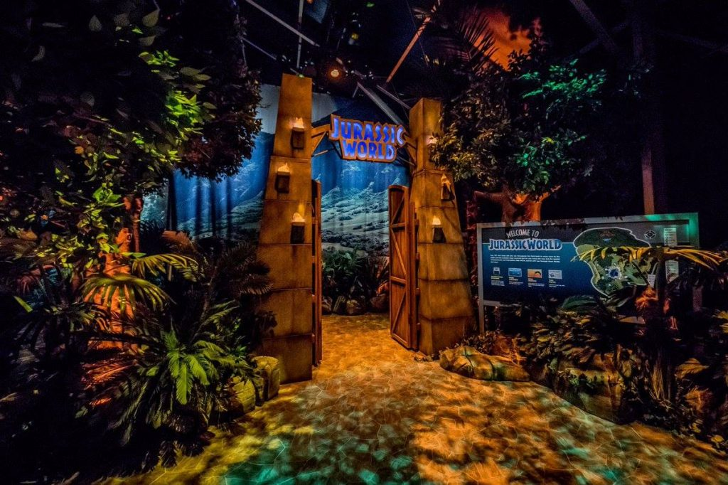 JURASSIC WORLD THE EXHIBITION, EN MADRIDv