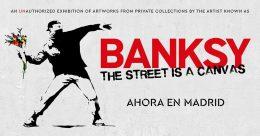 BANKSY: Genius or Vandal? en Círculo de Bellas Artes