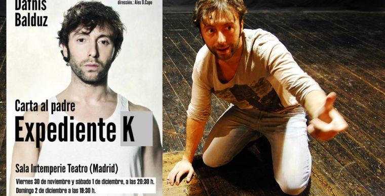 EXPEDIENTE K en Intemperie Teatro
