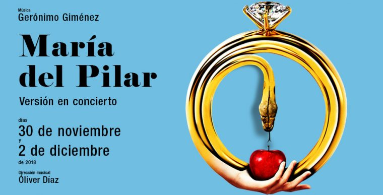 MARÍA DEL PILAR en el Teatro de la Zarzuela