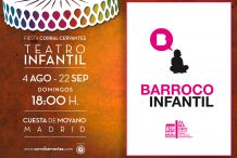 TRASPIÉS BARROCO INFANTIL del Festival de Almagro