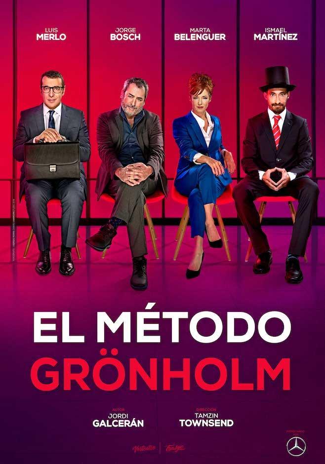 EL MÉTODO GRONHÖLM en el Teatro Cofidis Alcázar MADRID ES TEATRO