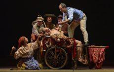 DIVINAS PALABRAS en el Teatro María Guerrero