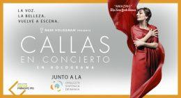MARÍA CALLAS EN CONCIERTO (Hologram tour), en la Estación Gran Teatro Bankia Príncipe Pío