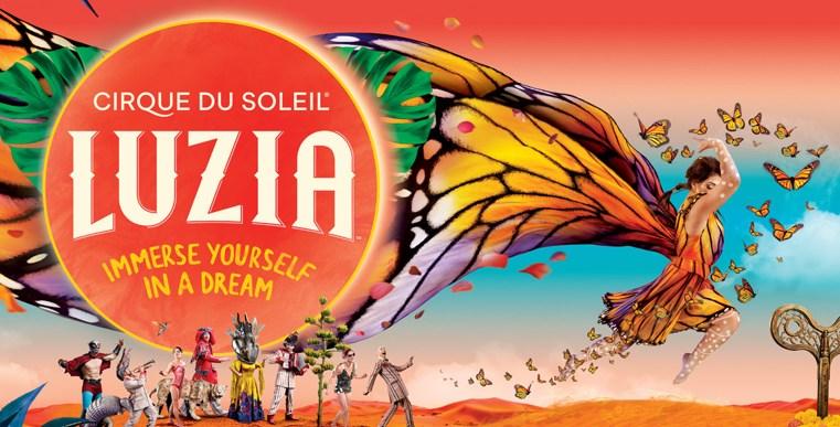 LUZIA del Circo del Sol, en la Puerta del Ángel