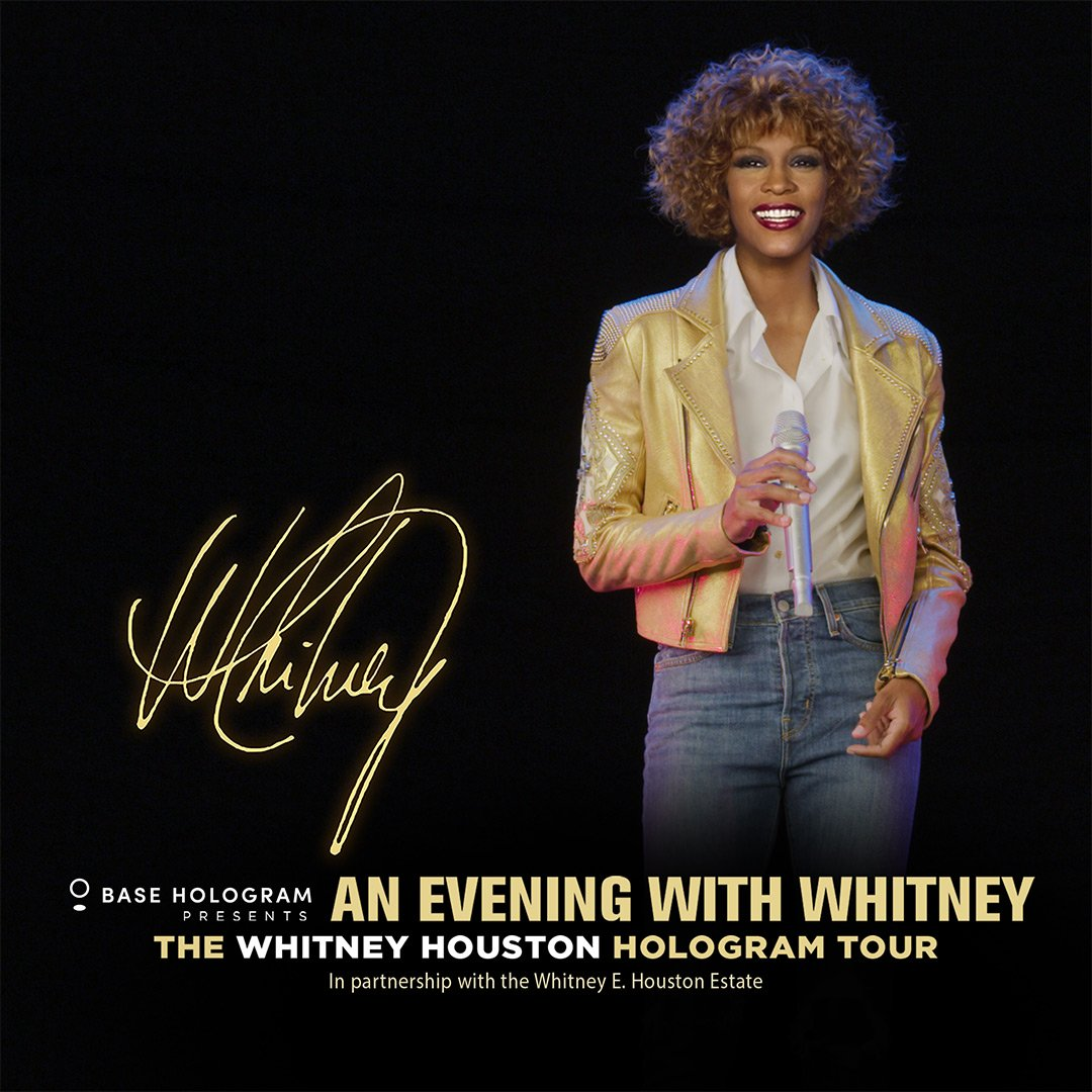 An Evening With Whitney The Whitney Houston Hologram Tour