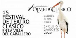 XV FESTIVAL DE TEATRO CLÁSICO DE OLMEDO, programación