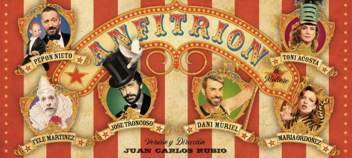 ANFITRIÓN, de Molière, en el Teatro la Latina