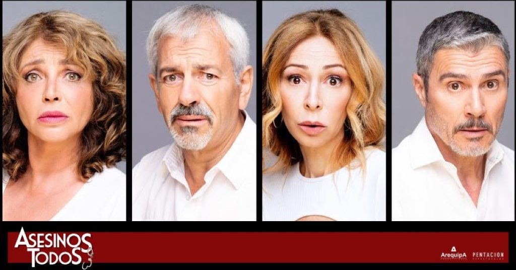 ASESINOS TODOS, el regreso de Carlos Sobera; Teatro Reina Victoria