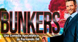 BUNKERS – UNA COMEDIA APOCALÍPTICA en el Teatro Marquina