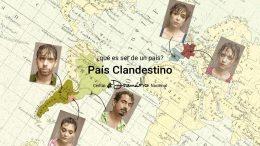 PAÍS CLANDESTINO en el Teatro María Guerrero