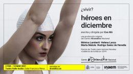 HEROES EN DICIEMBRE en el Teatro Valle Inclán