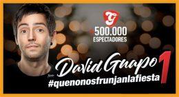DAVID GUAPO #QUENONOSFRUNJANLAFIESTA. Gran Teatro La Estación