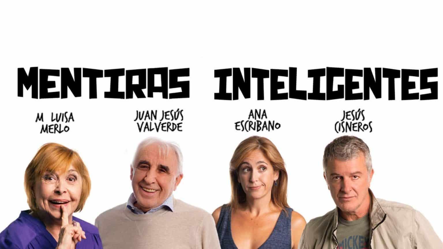 MENTIRAS INTELIGENTES en el Teatro Amaya
