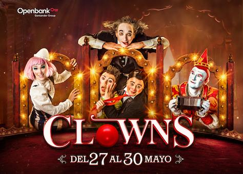 CLOWNS en el Circo Price