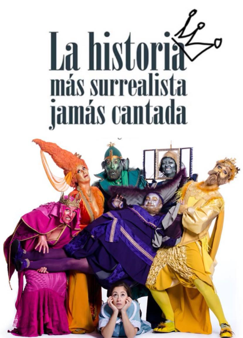 LA HISTORIA MÁS SURREALISTA JAMÁS CANTADA (el legado), en el Teatro Infanta Isabel