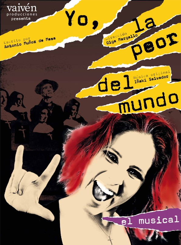 MADRID ES TEATRO YO, LA PEOR DEL MUNDO en el Teatro Fernán Gómez 6
