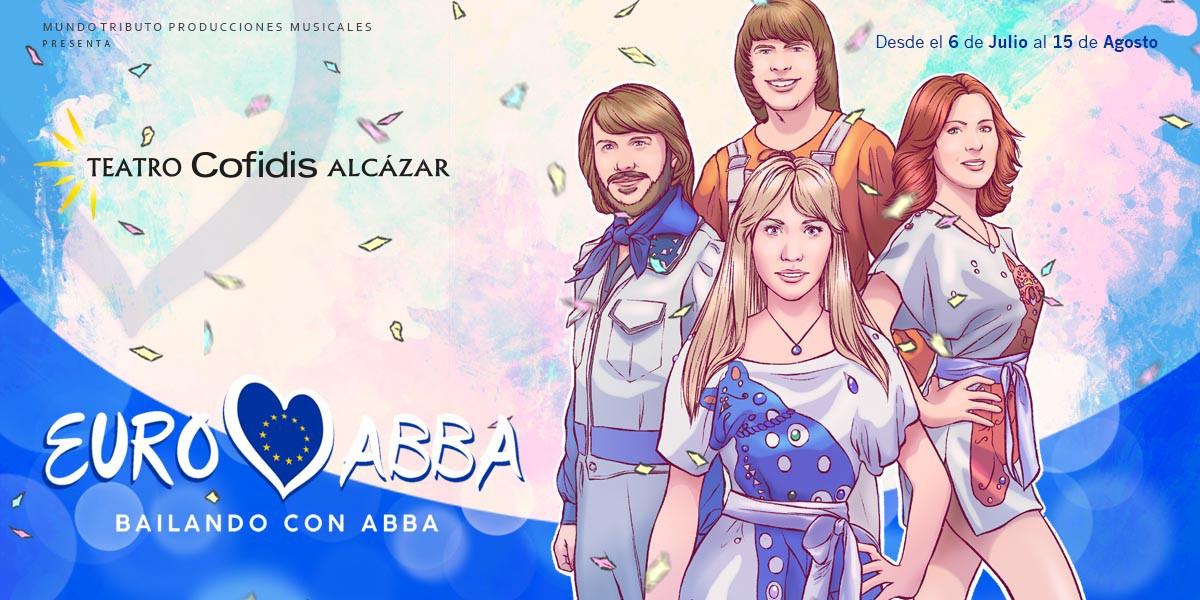 EuroAbba, Bailando con Abba, en el Teatro Cofidis Alcázar