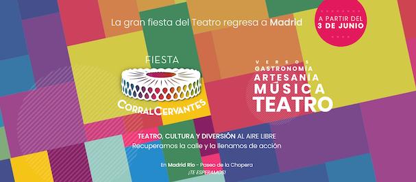 Fiesta Corral Cervantes, Madrid Es Teatro