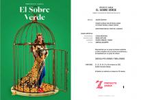 EL SOBRE VERDE en el Teatro de la Zarzuela