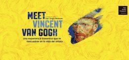 MEET VINCENT VAN GOGH en el Espacio Ibercaja Delicias